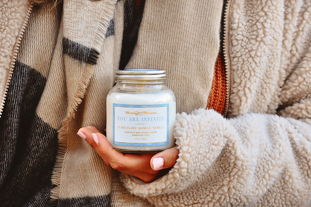 You Are Infinite 7oz Candle