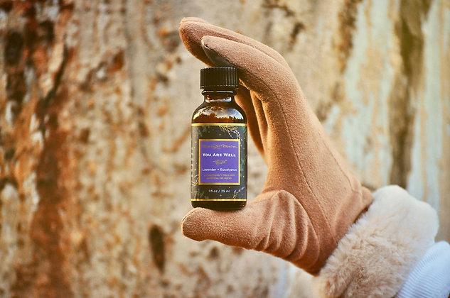 Lavender & Eucalyptus 1oz Aromatherapy Wellness Oil
