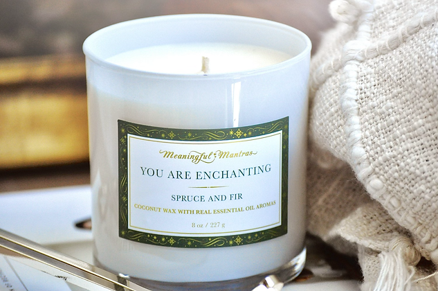 You Are Enchanting 8oz candle
