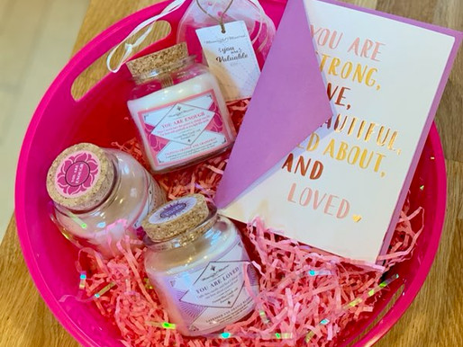 Mother's Day DIY Gift Basket