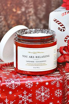 You Are Relaxing Epsom Salt Blend