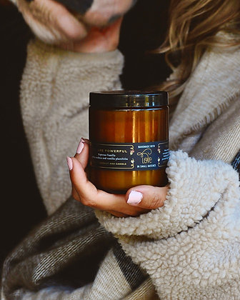 You Are Powerful Espresso 8oz Candle
