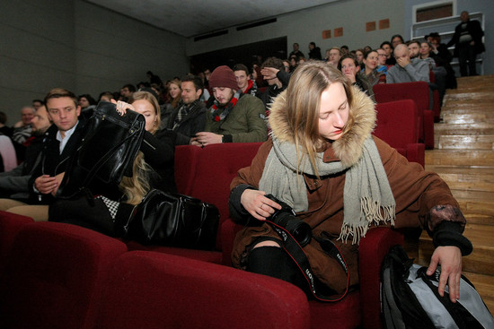 The Flag Project Film premiered at the Mykolas Žilinskas Art Gallery