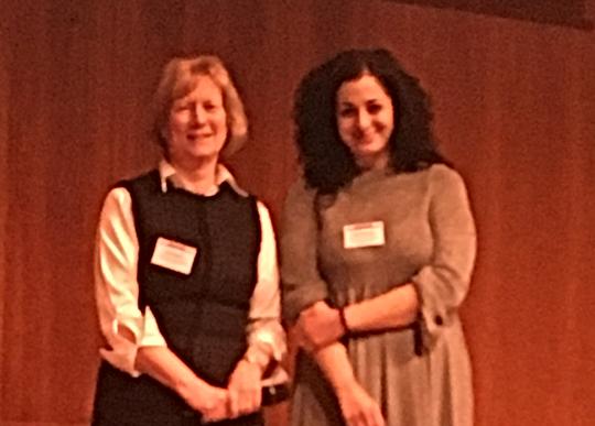 Βράβευση από την Jane Hurst, UK/Dutch Joint Clinical Genetic Meeting, Utrecht, 2018