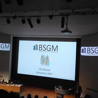 BSGM Conference, London, 2018