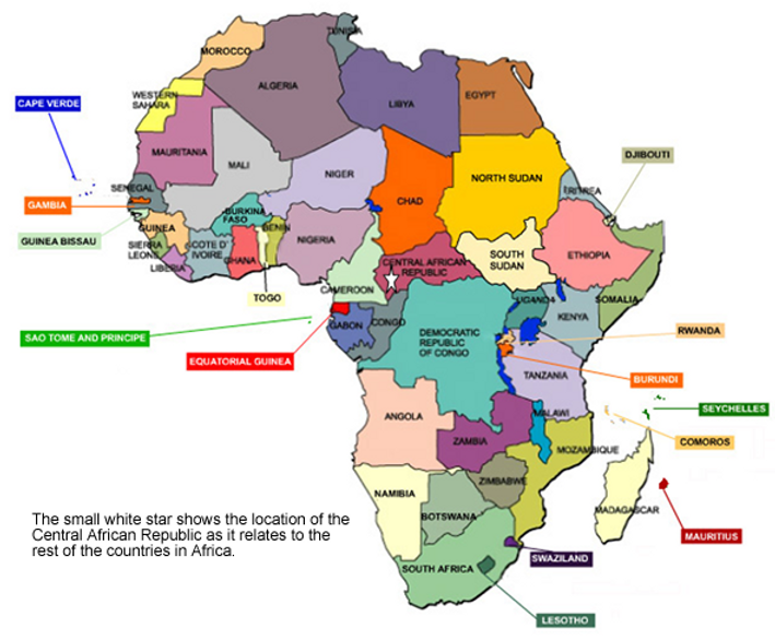 Counter Poaching Operations In Africa Maps - Mauritius map africa