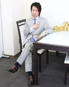 メンズモデル 松浦敬明 社長ですよ
