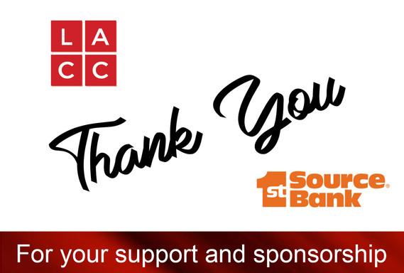 LACC THANK YOU SPONSOR SOCIAL 1ST SOURCE