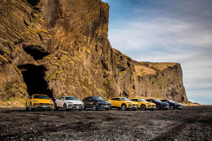 Lamborghini Avventura: una spedizione di Urus alla scoperta dell'Islanda