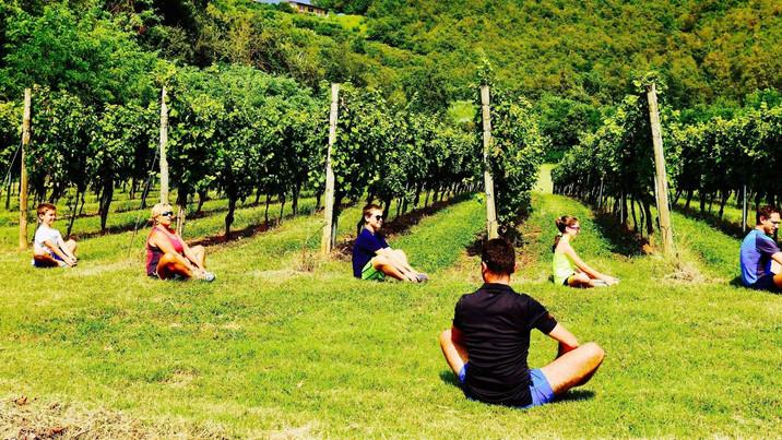Nel vigneto con il Personal Wine Trainer per ritrovare l'armonia di corpo e spirito