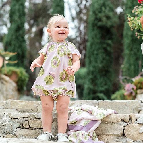 MILKBARN Dress & Bloomer Set