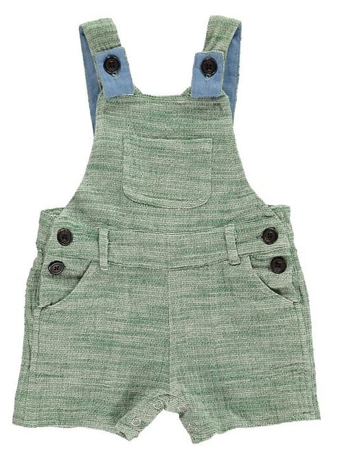 Me & Henry Shortie Overall Green