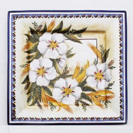 Wildflower (Flor Silvestre) Large Square Serving Platter