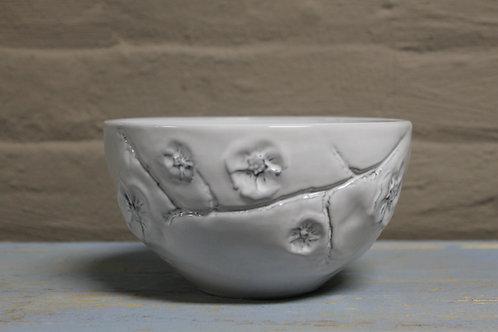 White Gardenia Cereal Bowl Set of 4