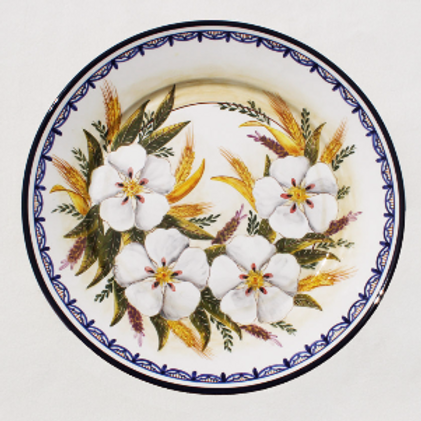 Wildflower (Flor Silvestre) Round Serving Platter