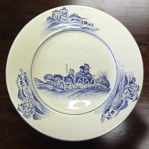 The Ranch Round Serving Platter