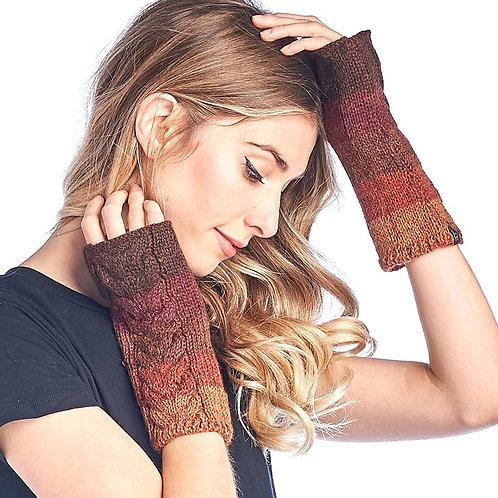 Alpaca Gloves Fade Autumn
