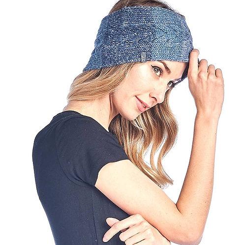Alpaca Headband Fade Azul