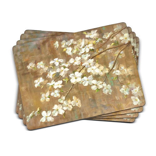 Dogwood in Spring Placemats Set of 4