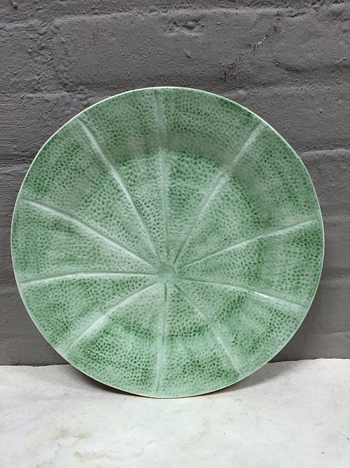 Cantaloupe Charger Plate