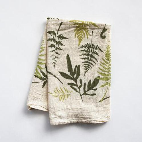 Chicks & Hens Succulent Flour Sack Tea Towel