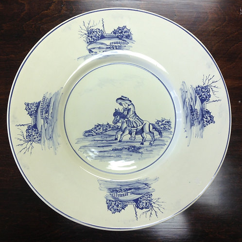 The Cavalier Round Serving Platter