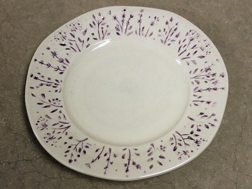 Pure Lila Dessert/Salad plate Set of 4