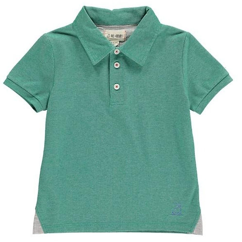 Me & Henry Pique Polo Shirt Green