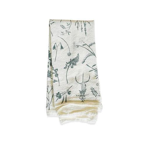 Slate Wildflowers Flour Sack Napkins Set of 4