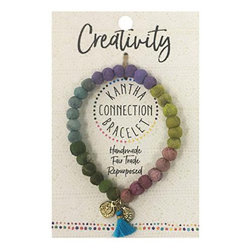 Creativity- Kantha Connection Bracelet