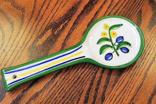 Oliva Azul Spoon Rest