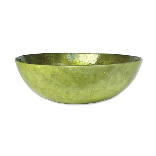 Capiz Olive Serving Bowl