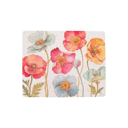 Spring Floral Rectangular Placemat Set of 4