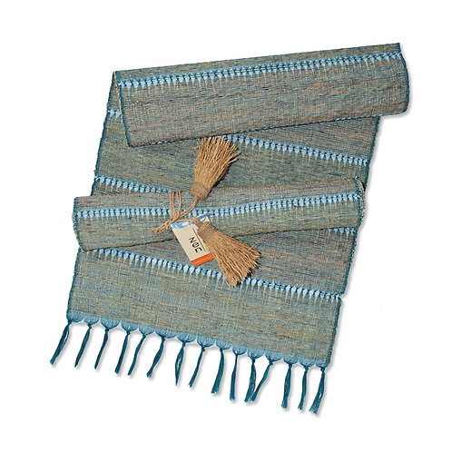 Indigo Stripe Vetiver Runner