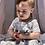 Thumbnail: Braided Stripe Dress Dove
