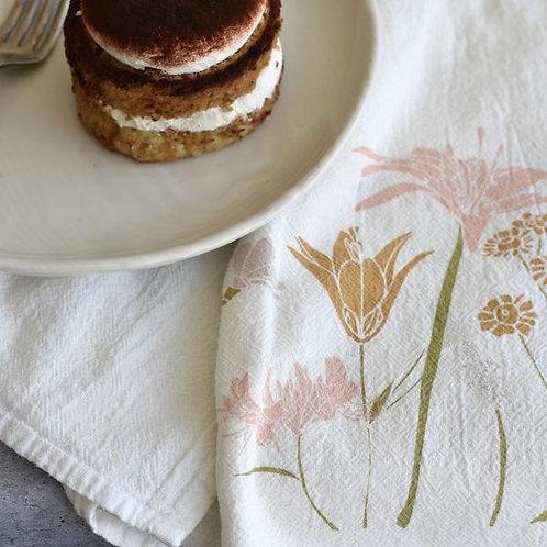 Flour Sack Tea Towel - Strength