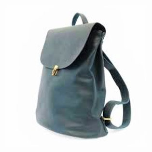 Vegan Leather Backpack Teal