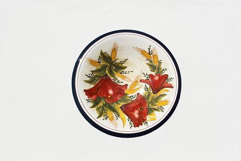 Poppies (Papoilas) Fruit Bowl