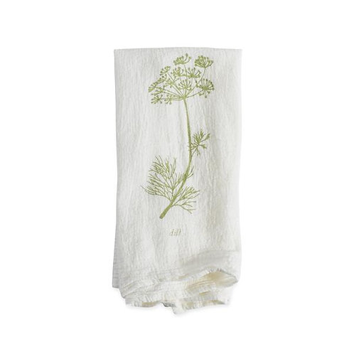 Dill Flour Sack Napkins - Set of 4