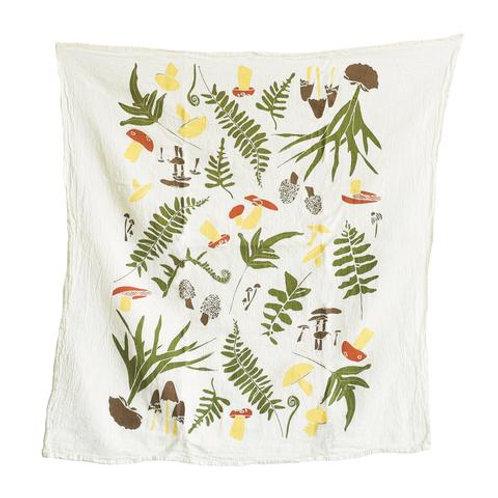 Forest Finds Flour Sack Tea Towel