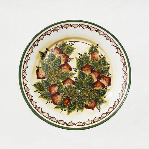 Chestnuts (Castanhas) Large Round Serving Platter