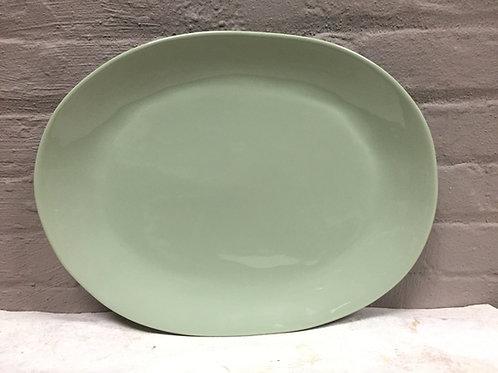 Herbal Garden Large Oval Serving Platter