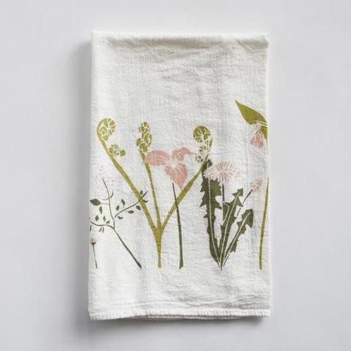 Flour Sack Tea Towel - Healing