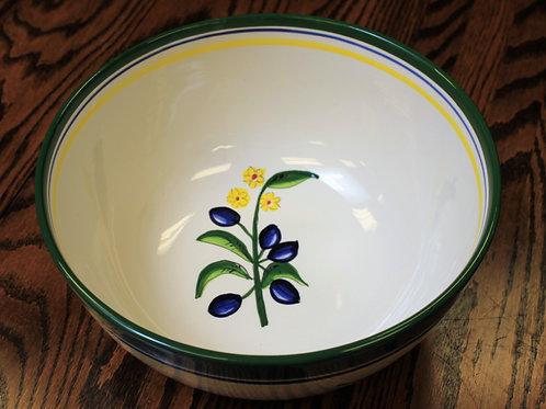 Oliva Azul Large Serving Bowl