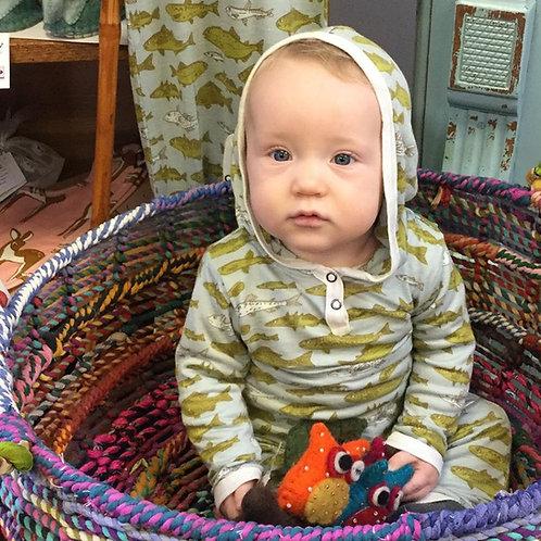 Milkbarn Hooded Romper