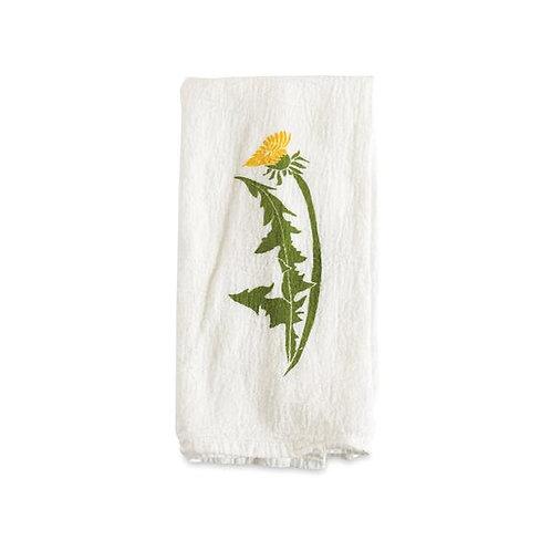 Dandelion Flour Sack Napkins - Set of 4