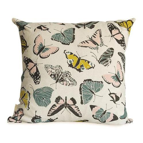Butterfly House Pillow