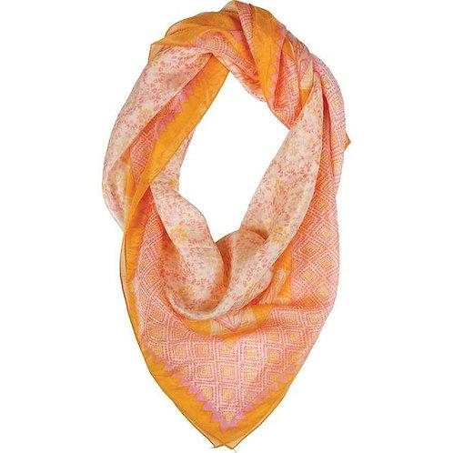Orange Silk Scarf