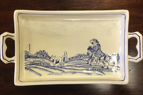 The Ranch Large Cheese Tray w/ Handles