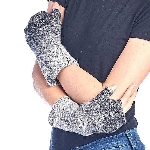 Alpaca Gloves Fade Charcoal